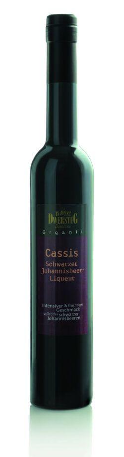Dwersteg Organic Cassis Schwarzer Johannisbeer-Liqueur 0,5l