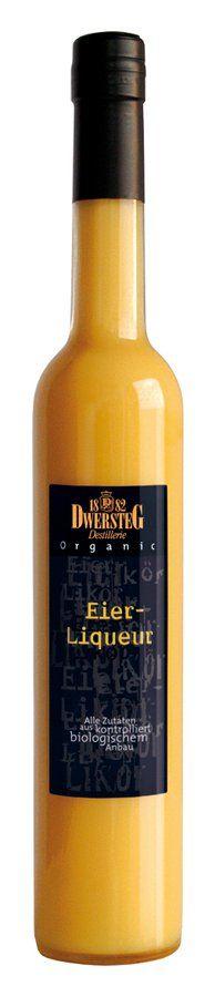 Dwersteg Organic Eier-Liqueur 20 % 6x0,5l
