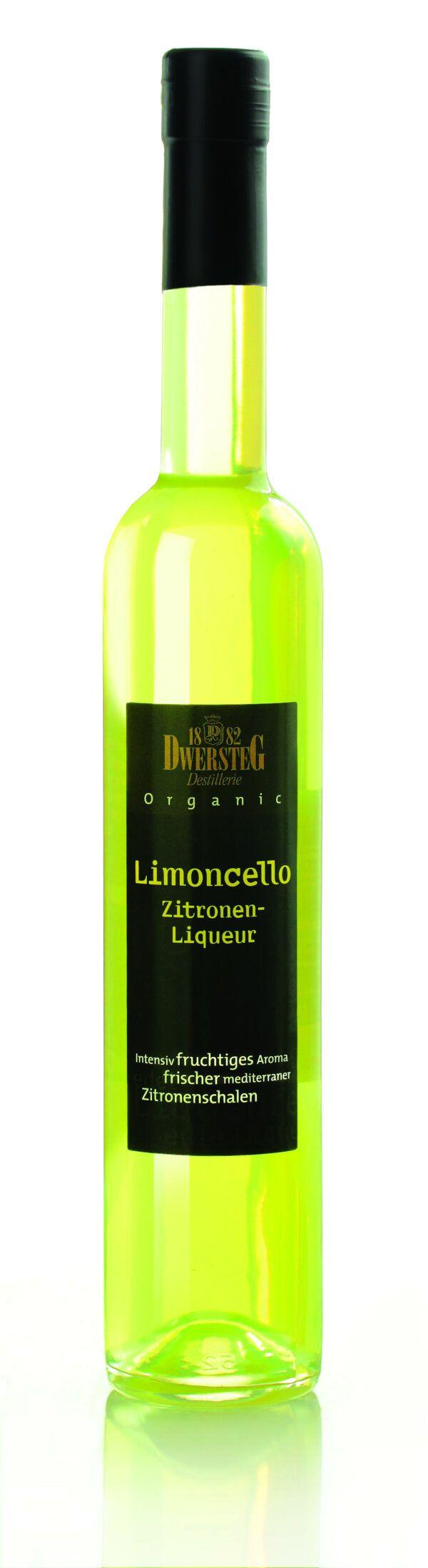 Dwersteg Organic Limoncello Zitronen Liqueur 0,5l