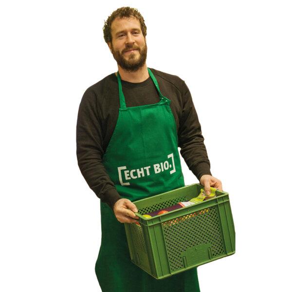 [ECHT BIO.] -Lazsürz,-aumwll,grün 1Stück