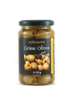 EPIKOUROS Grüne Oliven entsteint aus Griechenland 315g