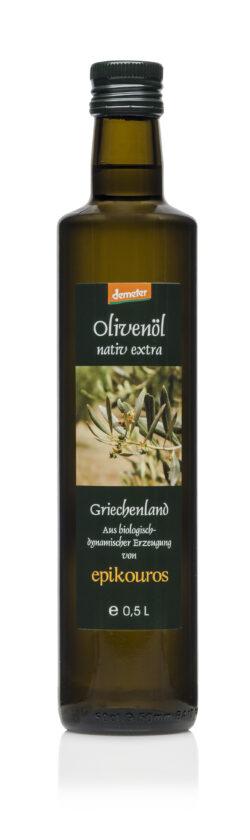 EPIKOUROS Demeter Olivenöl extra nativ von Kalamata/Griechenland 6x500ml