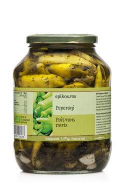 EPIKOUROS Milde Peperonis in Kräuteröl 1,47kg