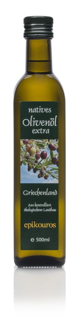 EPIKOUROS Olivenöl extra nativ von Kalamata/Griechenland 6x500ml