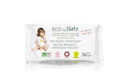 Eco by Naty Feuchttücher Aloe Vera 56 Stück je Packung 12x56Stück