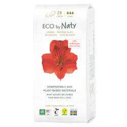 Eco by Naty Slipeinlagen Large 28 Stück, Kompostierbare Materialien, Organic Cotton, Vegan 12x28Stück