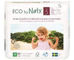 Eco by Naty Windelhöschen Pull on Pants, Größe 5 4x20Stück