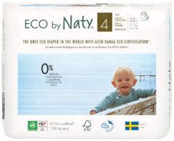 Eco by Naty Windelhöschen Pull on Pants, Größe 4 4x22Stück