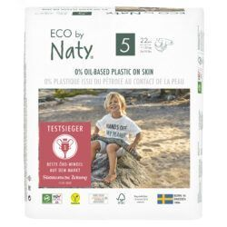 Eco by Naty Windeln Neue Gen Größe 5 6x22Stück