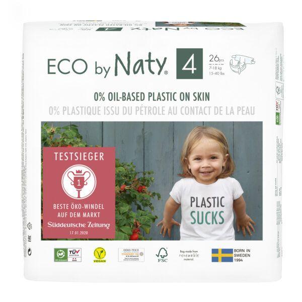 Eco by Naty Windeln Neue Gen Größe 4 26Stück