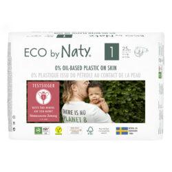 Eco by Naty Windeln Neue Gen Größe 1 4x25Stück