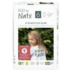 Eco by Naty Windeln Neue Gen Größe 6 6x17Stück