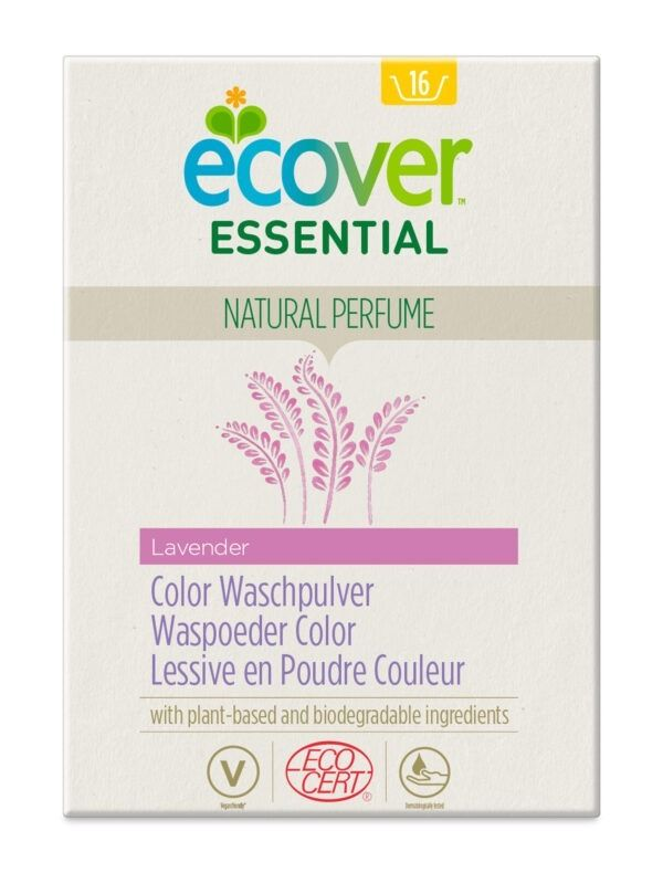 Ecover Essential Color Waschpulver Lavender 1200g