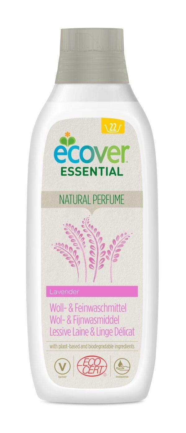 Ecover Essential Woll- und Feinwaschmittel Lavender 12x1l