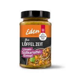 Eden my veggie paradise Löffel Zeit Linsen-Süßkartoffel-Eintopf 5x400g