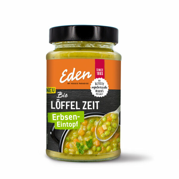 Eden my veggie paradise Löffel Zeit Erbsen-Eintopf 5x400g