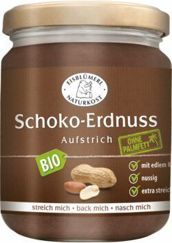 Eisblümerl Naturkost Schoko-Erdnuss Aufstrich 6x250g