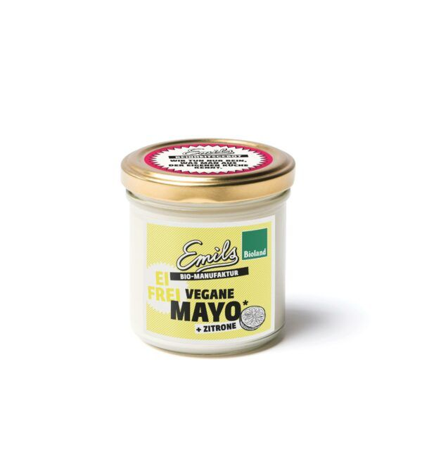 Emils Biomanufaktur Bioland vegane Mayo + Zitrone 125g