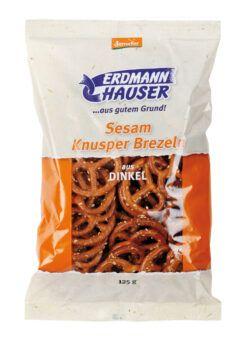 ErdmannHAUSER Getreideprodukte ErdmannHAUSER demeter Dinkel Knusperbrezel 12x125g