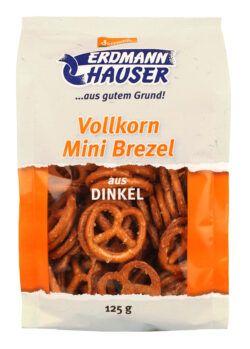 ErdmannHAUSER Getreideprodukte ErdmannHAUSER demeter Dinkel Minibrezel 6x125g