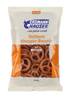 ErdmannHAUSER Getreideprodukte ErdmannHAUSER demeter Weizen Knusperbrezel 12x125g