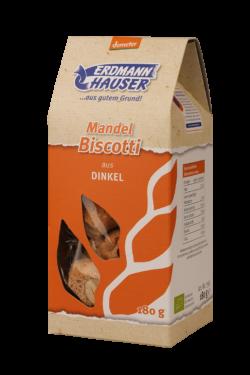 ErdmannHAUSER Getreideprodukte ErdmannHAUSER demeter Dinkel Mandel Biscotti 6x180g