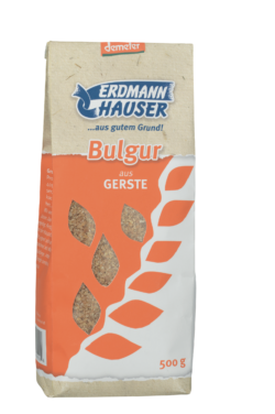 ErdmannHAUSER Getreideprodukte ErdmannHAUSER demeter Bulgur aus Gerste 6x500g