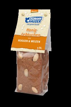 ErdmannHAUSER Getreideprodukte ErdmannHAUSER demeter Honig Lebkuchen 8x3Stück