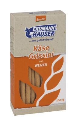 ErdmannHAUSER Getreideprodukte ErdmannHAUSER demeter Käse Grissini 7x100g