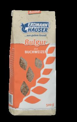 ErdmannHAUSER Getreideprodukte ErdmannHAUSER demeter Bulgur aus Buchweizen 6x500g