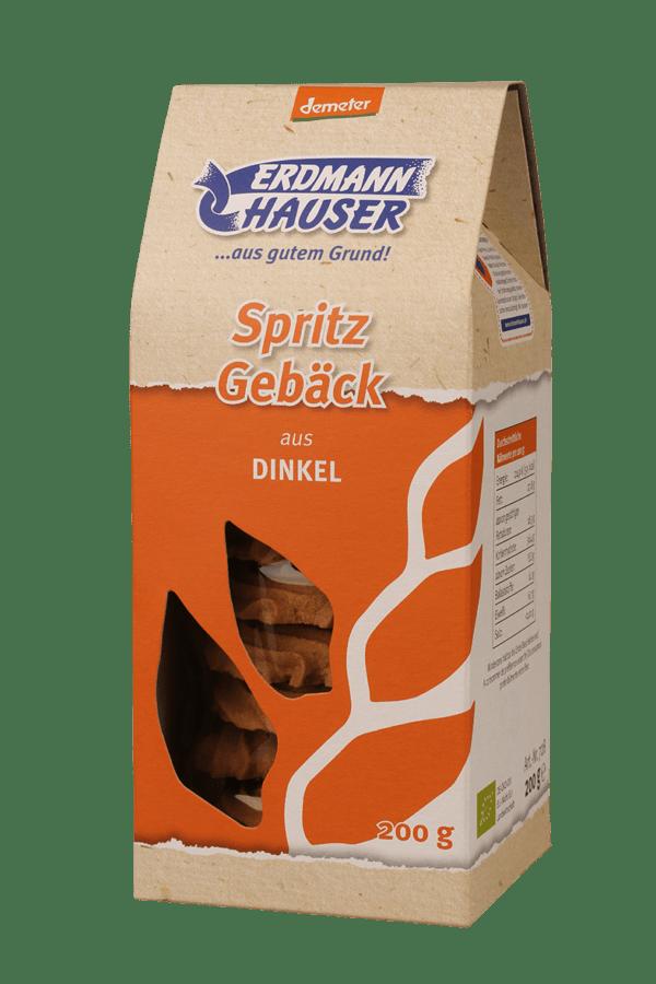 ErdmannHAUSER Getreideprodukte ErdmannHAUSER demeter Dinkel Spritzgebäck 6x200g