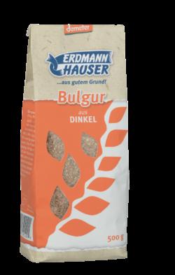 ErdmannHAUSER Getreideprodukte ErdmannHAUSER demeter Bulgur aus Dinkel 6x500g