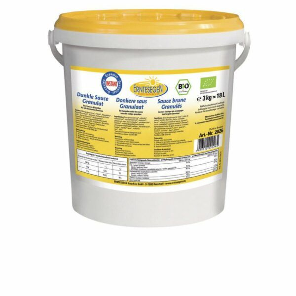 Erntesegen Dunkle Sauce Granulat 3kg