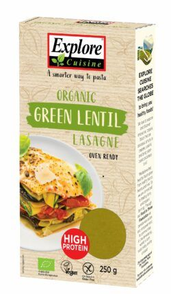 Explore Cuisine Lasagne aus grünen Linsen 12x250g