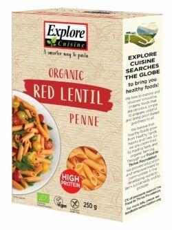 Explore Cuisine Penne aus roten Linsen 6x250g