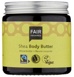 FAIR SQUARED Body Butter Shea 100 ml ZERO WASTE 100ml