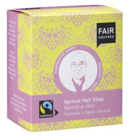 FAIR SQUARED Hair Soap Apricot - Sensitive Skin 160g