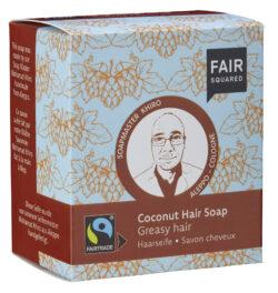 FAIR SQUARED Hair Soap Coconut - Greasy Hair 160g