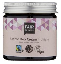 FAIR SQUARED Intimate Deo Cream Apricot 50 ml ZERO WASTE 50ml