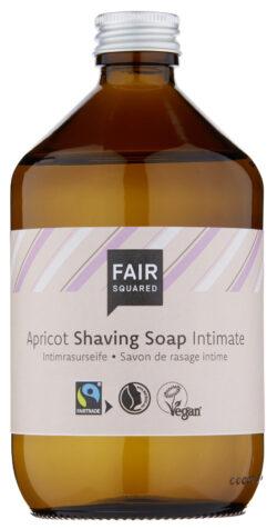 FAIR SQUARED Intimate Shaving Soap Apricot 500 ml ZERO WASTE 500ml