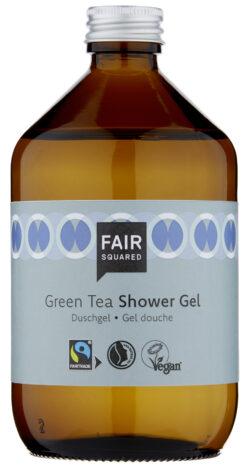 FAIR SQUARED Shower Gel Green Tea 500 ml ZERO WASTE 500ml