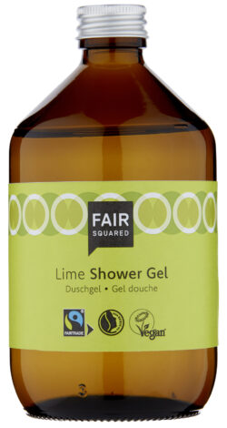FAIR SQUARED Shower Gel Lime 500 ml ZERO WASTE 500ml