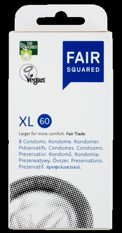FAIR SQUARED XL Kondome 8 Stück - Fair und Vegan 8Stück