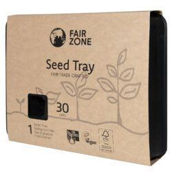 FAIR ZONE Saatgutschale aus Naturkautschuk 30 Zellen - Fair Trade & FSC 1Stück