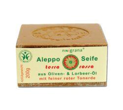 FINigrana® Naturkosmetik FINigrana Aleppo Peelingseife, Olive mit 30% Terra Rossa & Lorbeeröl 20x200g