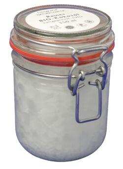 FINigrana® Naturkosmetik Reines Bio Kokosöl / Körperbutter, 350ml im Einmachglas mit Bügelverschluss 330ml