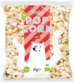 Fredos Bio-Popcorn, süß 8x60g