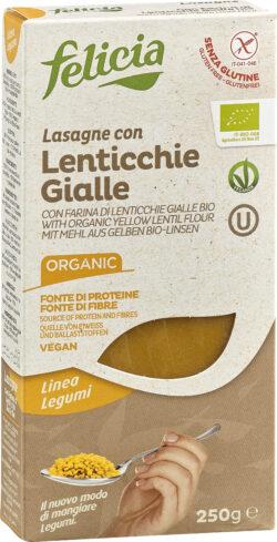 Felicia Bio Gelbe Linsen Lasagne glutenfrei 12x250g