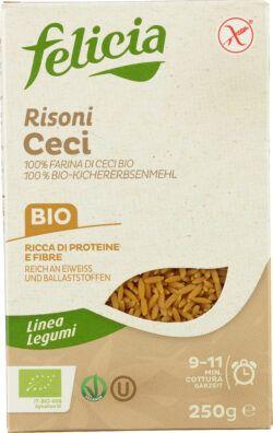 Felicia Bio Kichererbsen Risoni glutenfrei 12x250g