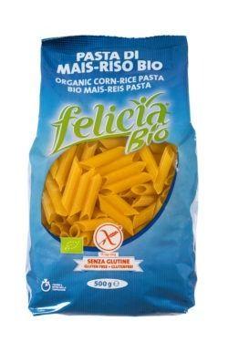 Felicia Bio Mais-Reis Penne glutenfrei 12x500g
